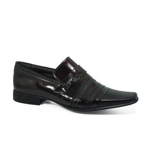 Sapato Masculino Verniz Couro Legítimo Calvest Original 1320