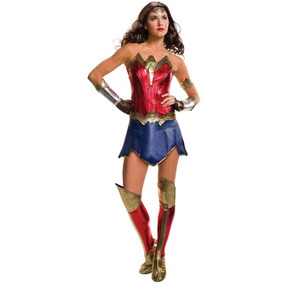 Disfraz Lujo Sexy Mujer Maravilla Wonder Woman Liga Justicia