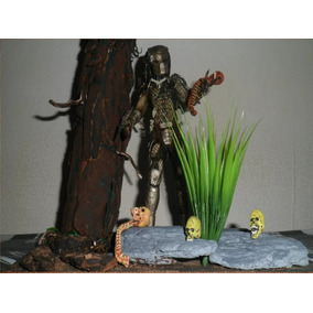 Diorama Skull Predador