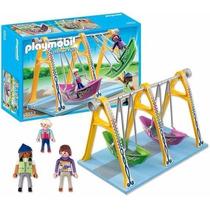 Playmobil 5553 Summer Fun Barco Balanço Parque De Diversoes