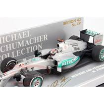 Mercedes Benz W03 F1 # 7 2012 M Schumacher Minichamps 1/43