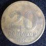 Moeda Antiga De 20 Centavos - 1946 Brasil