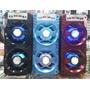 Caixa De Som Amplificada Portatil Bluetooth Usb Mp3 Radio Fm