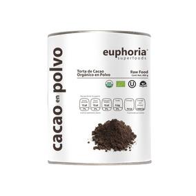 100% Cacao En Polvo Certificado Orgánico 400 Gr (no Cocoa)