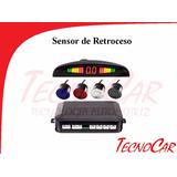 Sensor De Retroceso Ultra Plano Instalado