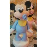 Minnie Y Mickey Bebé Adorno Para Torta !