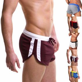 Shorts Cortos Deportivos Con Rayas Gym Playa Correr Pants