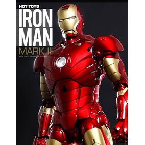 Hot Toys Iron Man Mark Iii Diecast Vingadores Diecast Mk 3