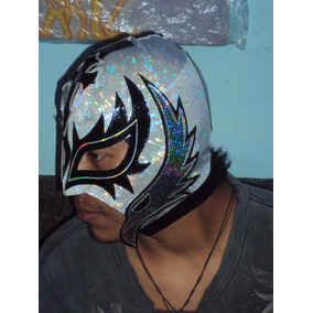 Mascara Luchador Wwe Rey Misterio Kiss Adulto Semiprofesiona