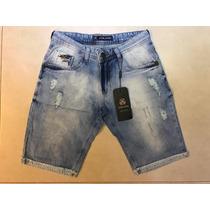 Bermuda Jeans Masculina Da John John Pronto Entrega