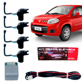 Kit Trava Elétrica Fiat Uno Novo 4 Portas Específica