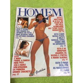 Revista Homem Gretchen Fátima Boa V Mara P Ritinha Lucia S