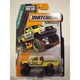 Matchbox Mbx - Exploradores Chevy K X4 Camioneta Pickup 88