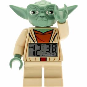 Reloj De Lego Star Wars Yoda Con Despertador Y Luz Diego Vez