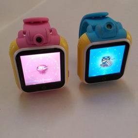 Smartwatch Localizador Gps Con Cámara, Android Celular Niños