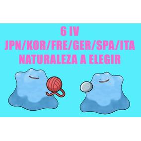 Ditto Para Crianza 6iv Jpn Fre Kor Pokemon