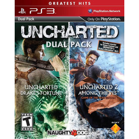 Uncharted 1, 2 Greatest Hits Dual Pack - Psn Ps3 - Envio Já
