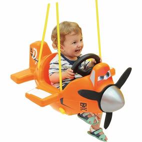 Balanço Infantil Criança Aviões Disney Playground Xalingo