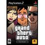 Jogo Mídia Física Original Grand Theft Auto Gta Trilogy Ps2