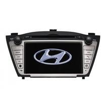 Central Multimidia Hyundai Ix35 Gps Dvd Tv Bluetooth Cam. Ré