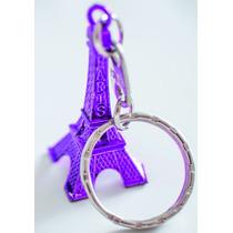 Llavero Torre Eiffel Replica Subte A Carabobo