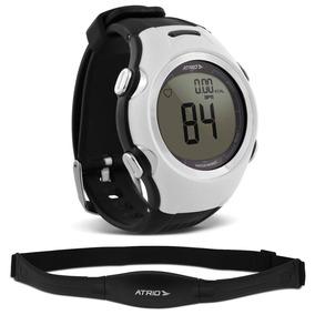 Relogio Smart Run Atrio Altius Monitor Cardíaco Preto Branco