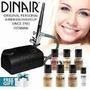 Maquillaje Aerografo Dinair Kit Promoción Con 3 Regalos