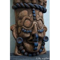 Mascara Prehispánica Artesania Mexicana Precolombina Azteca