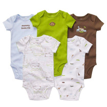 Carters Set De 5 Bodys 100% Originales