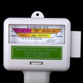Medidor Cloro E Ph 2x1 Da Água Para Piscina Aquario Spa Lago
