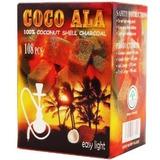 Coco Ala Carbón Natural De Coco Hookah Shisha Carbones 108 U