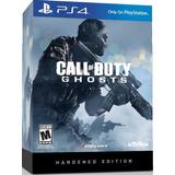 Call Of Duty Ghost Hardened Edition Ps4 Nuevo Caja De Lujo