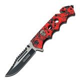 Cuchillo De Bolsillo Que Acampa Tatical Tac Fuerza De Aper