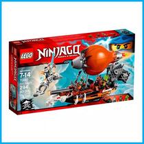 Lego Ninjago 70603 Zepelim De Ataque 294 Peças