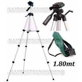 Tripé Universal Fotográfico Profissional Canon Nikon Fu 1.80