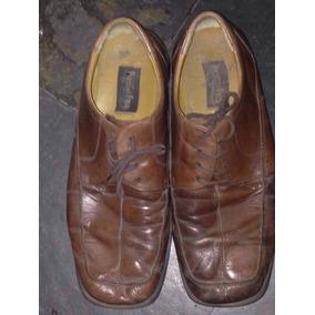 Sapato Social Preston Field Couro Usado Ler Tudo Tamanho 43