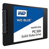 Disco De Estado Solido Western Digital Blue Ssd, 250gb, Sata