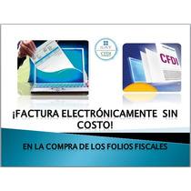 Paq.100 Folios Cfdi Facturación Electrónica Web,fácil