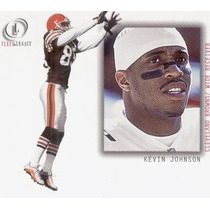 2001 Fleer Legacy Kevin Johnson Cleveland Browns Wr