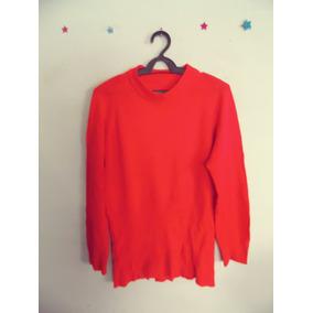 Suéter Feminino Vermelho Tricot Cód. 246