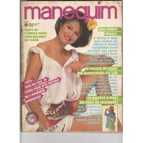 Revista Manequim Nº301 - Jan 1985 - Capa Marina - Com Moldes