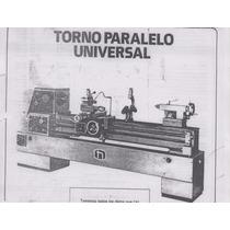 Torno Universal Parealelo Nardini Modelo 220m-iii