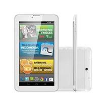 Tablet M7i- 3g Quad 8gb 7 Gps Branco Multilaser- Nb245