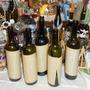 M8 Botellas Recicladas De Vino Forradas Con Papel Vintage