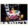 Torta De Cumpleaños, Campanita, Olivia, Pepa, Gaturro, Cars
