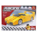 Blocos De Montar Carro Racing 170 Peças Ausini 264
