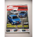 Revista Quatro Rodas Ano 54 Nº 658 Jul 2014 - Sandero X Hb20