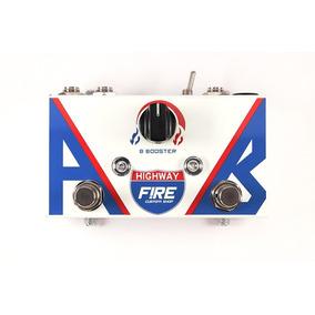 Highway Ab Box Pedal Fire Booster Guitarra - Garantia 5 Anos