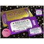 Tarjetas De 15 Ticket Violeta Y Oro Originales