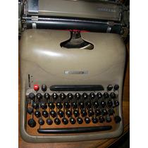 Antigua Maquina De Escribir Olivetti Lexikon 80 Funcionando